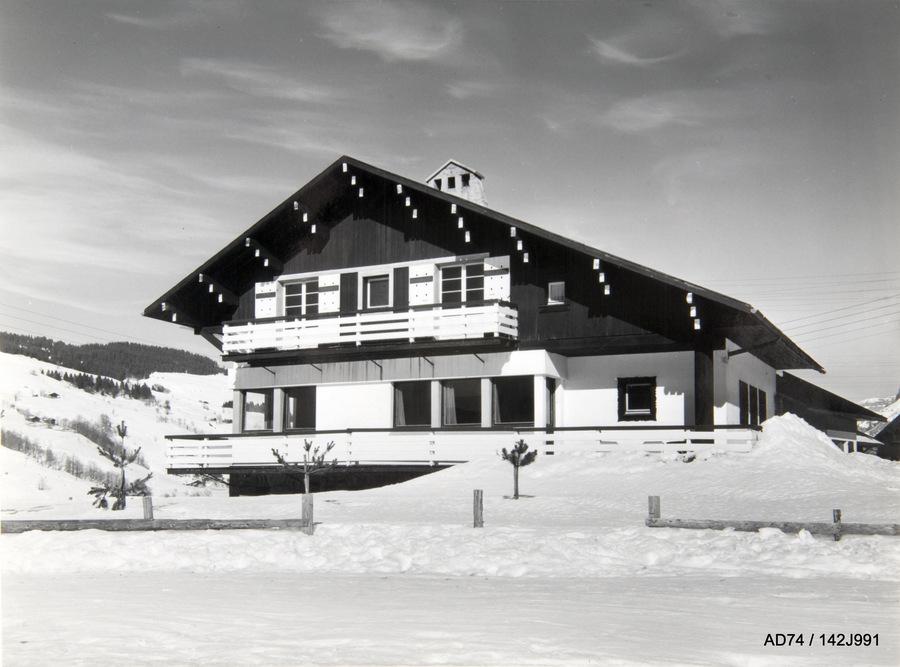 Chalet du skieur Ombre blanche, fin des années 1930 – Megève (74)
