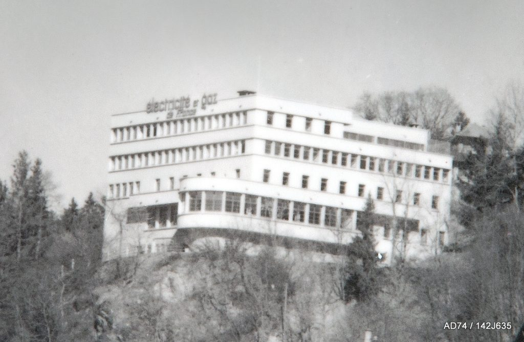 Collège le Hameau, fin des années 1930 Megève (74)