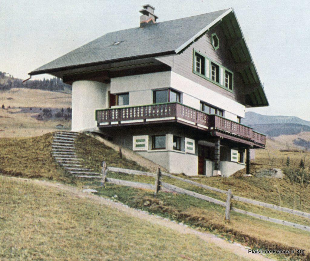 Chalet du skieur la Sauvagine, fin des années 1930 – Megève (74)